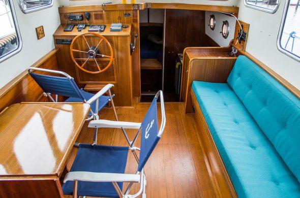 Oostvaarder Kotter 9.50 OK - Motorboot huren - Ottenhome Heeg