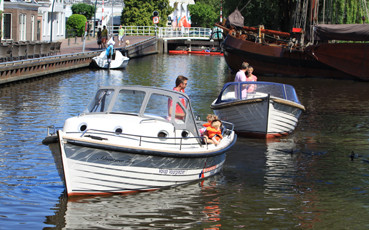 RiverCruise 23 - Sloep huren in Friesland - Ottenhome Heeg