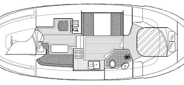 Oostvaarder Kotter - Motorboot huren - Ottenhome Heeg 9
