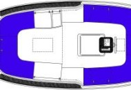 Ottenhome Heeg - RiverCruise 23 - Plattegrond 2