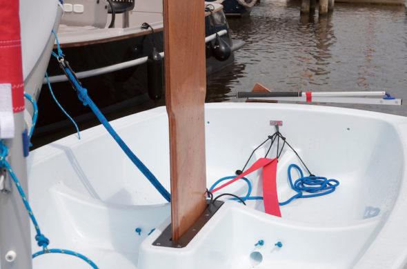 Optimist - zeilbootje huren in Friesland - Ottenhome Heeg