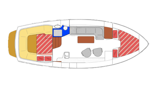 RiverCruise 35 - Motorboot huren - Ottenhome Heeg 12