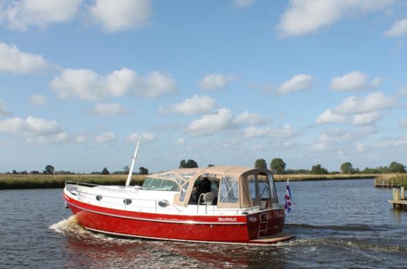 RiverCruise 35 - Motorboot huren - Ottenhome Heeg