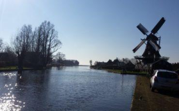 Vaarroutes Friesland, Woudsend