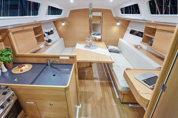 Interieur Jeanneau Sun Odyssey 319 - Ottemhome Heeg
