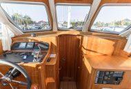 Uitzicht vanuit de Linssen Grand Sturdy motorboot