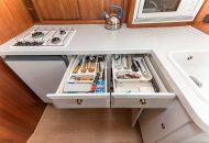 Keukenlades met inhoud van de Linssen Dutch Sturdy