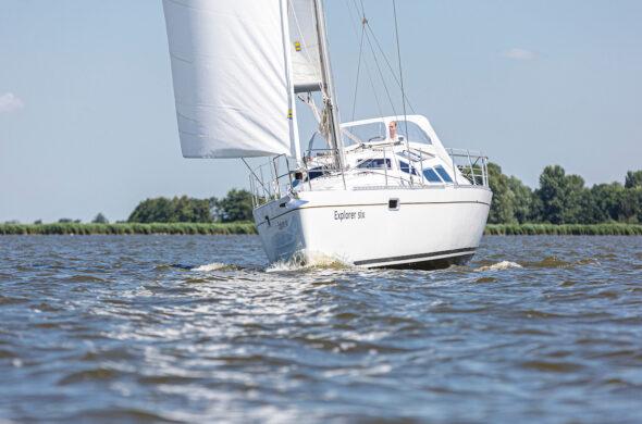Zeiljacht huren Friesland - Sunhorse 35- Ottenhome Heeg