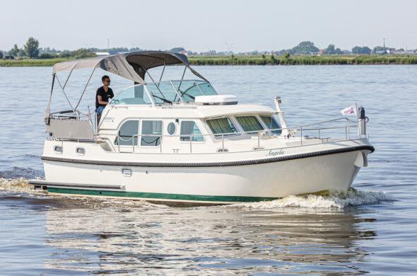 Motorboot huren - Linssen 34.9 Grand Sturdy - Ottenhome Heeg